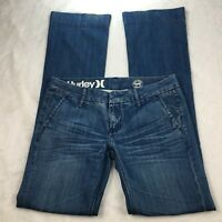 Hurley Denim Women's 99 Lowrider Jeans Med Wash Size 26 Style: GDP99LRA
