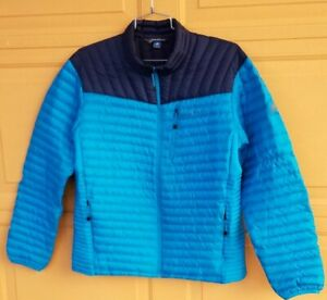 Eddie Bauer First Ascent Down Microtherm 800 Mens Sz Large Jacket StormDown