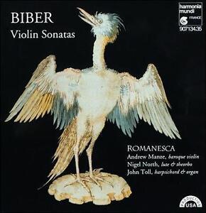 Heinrich Ignaz Franz von Biber: Violin Sonatas (CD, Dec-1994, 2 Discs, Harmonia