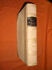 giurisprudenza codice di procedura civile libro  1°  1954 ,in pelle