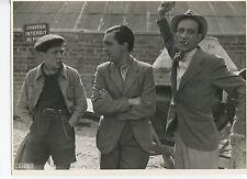 3 PHOTOGRAPHIES ARGENTIQUES ORIGINALES VERS 1935 CINÉMA 3 VINTAGE PHOTOGRAPHS