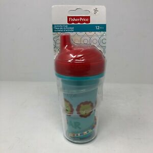 Fisher-Price 10 Ounce Activity Red Cup I am Lion Hear Me Roar!