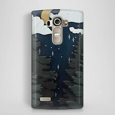 Paining Moon Cloud Forest Design Artist Phone Case Cover