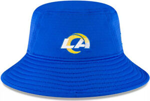 NWT New Era NFL Sideline Official Bucket Hat Training Los Angeles Rams