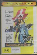 THE SWORDSMAN OF SIENA STEWART GRANGER NEW ALL REGION DVD