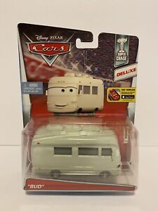 DISNEY PIXAR CARS BUD RV SUPER CHASE LE 4000 DELUXE EDITION 1:55 RARE DIE-CAST