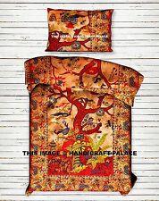 Indian Tree of Life Duvet Doona Cover Hippie Quilt Blanket Cover Mandala Throw