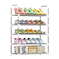 5-Tier Shoe Rack Shoe Tower Shelf Storage Organizer Cabinet Stackable M3J6