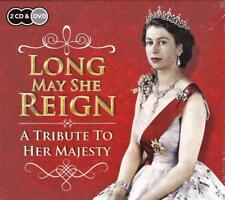 Long May She Reign a Tribute to Her Majesty The Queen - 2 CDs 1 DVD PATHE News