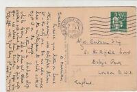 France Marseille 1936 Longchamp Palace Pic Stamps Post Card to London Ref 32122