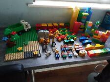 LEGO DUPLO Bundle Treno Zoo Animali Figure e altro ancora.