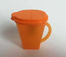 Tupperware Mini Pitcher Magnet Orange New