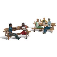 More details for woodland scenics a2214 n gauge outdoor dining figures