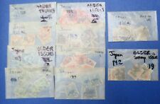 Japan Stamps in Glassine Envelopes (Lot 02) Scott 127~142 (Misc Scott Nos)