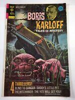 Boris Karloff Tales of Mystery # 49 Gold Key Comics August 1973