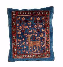 Cuscino TAPPETO PERSIA Ghashghai 42 x 36 cm, pezzo unico, mano intessuti incl. riempimento