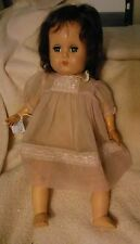 "14"" vintage American Character hard plastic and vinyl baby"