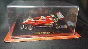 1/43 Ferrari F126 C2 #27 G.Villeneuve - Official licenced Product