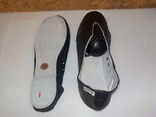 balerines / chaussons de danse-gymnastique -ARENA ibiza -cuir, noirs en 41