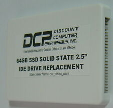 """64GB SSD Replace 2.5"""" 9.5MM IDE Drives with this 44 PIN IDE SSD Card in a Case"""