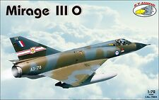 RV Aircraft 1/72 Mirage IIIO plastic kit