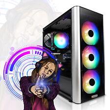 Gaming PC High End AMD Ryzen 5 16/32GB DDR4 Wlan Windows 10 SSD+HDD RGB Computer