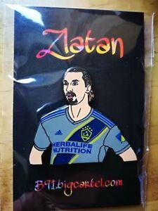 Zlatan Ibrahimovic LA Galaxy Limited EDT RARE Away Shirt Pin Badge not pinenka