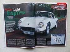 Lamborghini 3500 GTZ von 1965 - Bericht - Oldtimer Markt Heft 2/2002