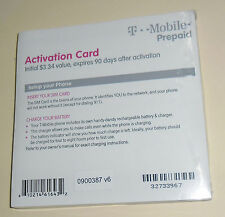 New Tmobile activation code T-Mobile Activation Code w $3.34 credit  without Sim