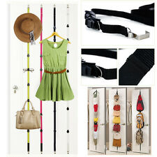 180cm Hat Bag Clothes Straps Hanger Rack OVER THE DOOR COAT HANGER CLOTHES 180cm