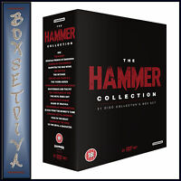THE ULTIMATE HAMMER COLLECTION - 21 CLASSIC FILMS **BRAND NEW DVD BOXSET * **