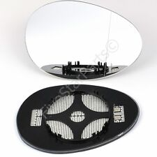 Right Driver side Wide Angle mirror glass for BMW Mini Cooper One 2006-13 Heated