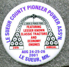 2001 LeSueur County Pioneer Power Button