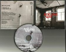 ADELITAS WAY The Collapse w/ RARE EDIT PROMO Radio DJ CD single 2011 MINT