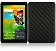 Skinomi Carbon Fiber Black Tablet Skin+Screen Protector for Acer Iconia Tab A510