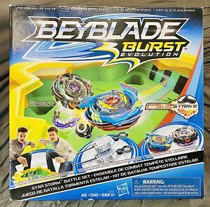Beyblade Burst Evolution Star Storm Battle Set E0722 - Preowned