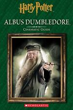 Albus Dumbledore Cinematic Guide, Harry Potter, 2016 Hardcover, Wizarding World