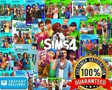 Los Sims 4 PC-todos los paquetes de expansión, cosas, Dlc, ingenioso Tejer Incluido