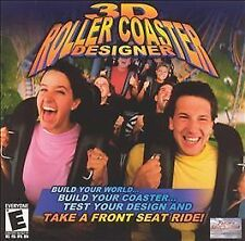 3D Roller Coaster Designer Pantera Entertainment CD-ROM