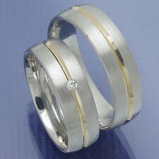 Trauringe Eheringe Hochzeitsringe Verlobungsringe Silber Gold - P9159217