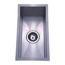 240 x 440 x 190 mm Square Undermount / Bench Top Kitchen Sink, Stainless Steel