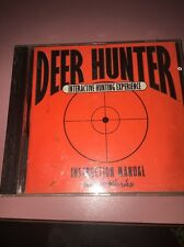 Deer Hunter 1 PC CD buck wild shotgun bow shooting animal hunting shooter game