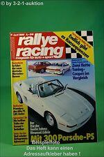 Rallye Racing 4/86 Rinspeed Cabrio Alfa 75 Honda Prelud