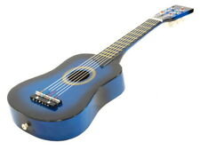 "25"" Acoustic Guitar - Blue Small Scale Child Kids Practice Play Toy Bag Tuner"