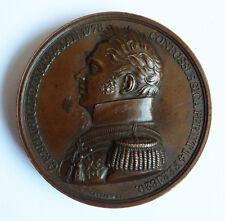 Médaille en bronze 19e siècle Duc et Duchesse de BERRY par GAYRARD