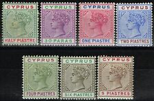 Mint Hinged Victoria (1840-1901) Cypriot Stamps