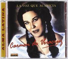 CARMEN DE VERACRUZ - LA VOZ QUE ACARICIA   CD NEW+