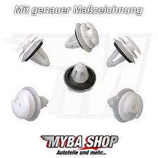 8x aménagement intérieur clips de fixation + joint BMW e36 e39 e46 51411973500