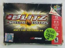 Nintendo 64 NFL Blitz Special Edition - BOX ONLY NO GAME OR MANUAL