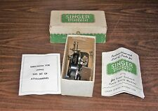 SINGER BUTTON HOLE ATTACHMENT #121795 WITH INSTRUCTION BOOKLET